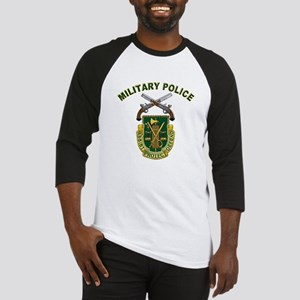 US Army Military Police Crest Baseball Jersey