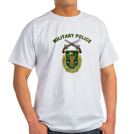 US Army Military Police Crest Light T-Shirt