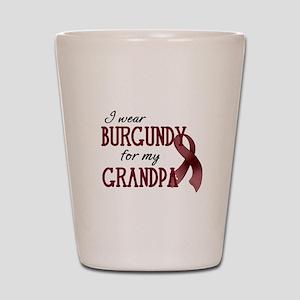 Wear Burgundy - Grandpa Shot Glass