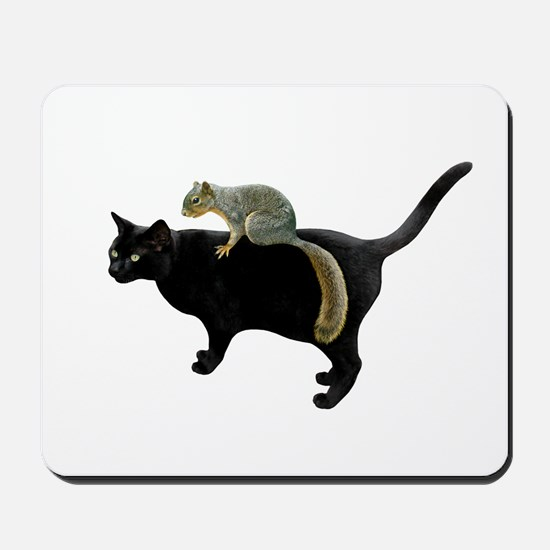 Squirrel on Cat Mousepad