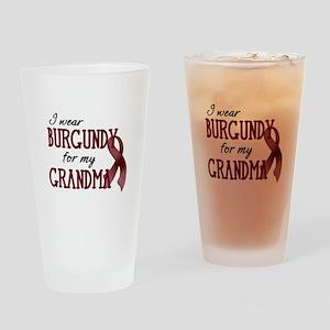 Wear Burgundy - Grandma Pint Glass