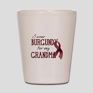 Wear Burgundy - Grandma Shot Glass