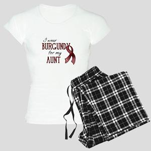 Wear Burgundy - Aunt Women's Light Pajamas
