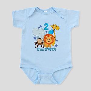 2nd Birthday Jungle Infant Bodysuit