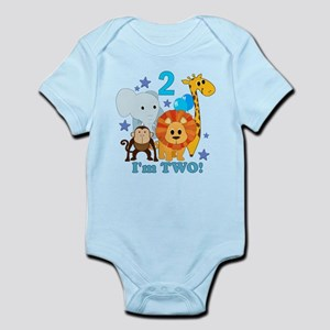 2nd Birthday Jungle Infant Bodysuit