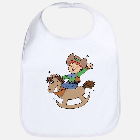 Ride'em Cowboy Bib