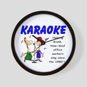 Karaoke Wall Clock