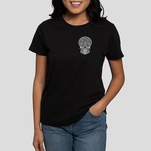 Deadly Love Skull Women's Dark T-Shirt