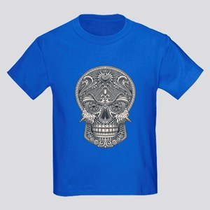 Deadly Love Skull Kids Dark T-Shirt
