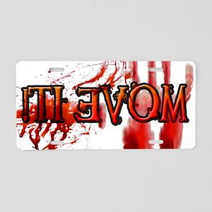 Move It! - Aluminum License Plate