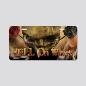 Hell On Wheels 1 - Aluminum License Plate