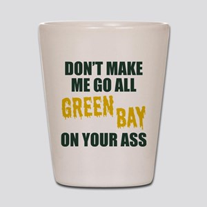 Green Bay Football Shot Glass