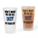 Indianapolis Football Drinking Glass