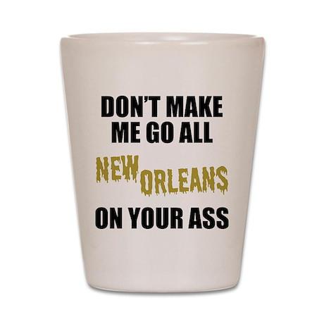 New Orleans Football Shot Glass