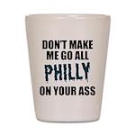 Philadelphia Football Shot Glass