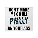 Philadelphia Football Throw Blanket