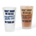 Seattle Football Drinking Glass
