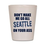 Seattle Football Shot Glass
