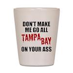 Tampa Bay Football Shot Glass