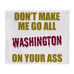 Washington Football Throw Blanket