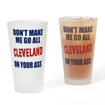Cleveland Baseball Drinking Glass