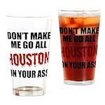 Houston Baseball Drinking Glass