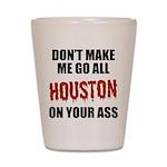 Houston Baseball Shot Glass