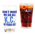 Kansas City Baseball Drinking Glass