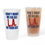 Los Angeles Baseball Drinking Glass
