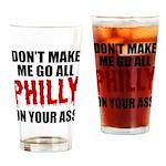 Philadelphia Baseball Drinking Glass