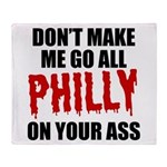 Philadelphia Baseball Throw Blanket