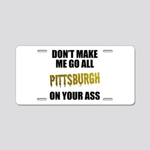 Pittsburgh Baseball Aluminum License Plate