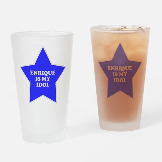 Enrique Is My Idol Pint Glass