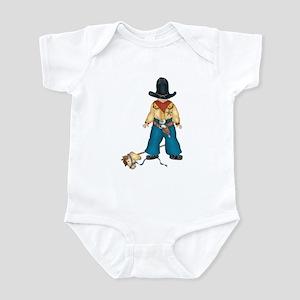 Cowboy Sheriff Infant Creeper