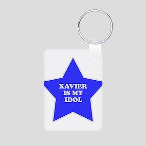 Xavier Is My Idol Aluminum Photo Keychain