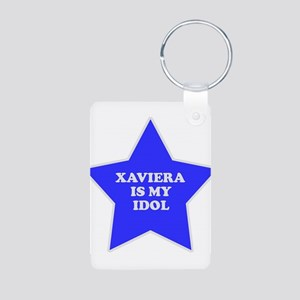 Xaviera Is My Idol Aluminum Photo Keychain