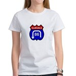 American Illegals Red-Blue Women's T-Shirt