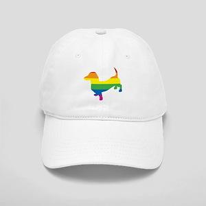 Gay Pride Dachshund Cap