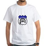 American Illegals Blue White T-Shirt