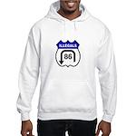 American Illegals Blue Hooded Sweatshirt