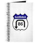 American Illegals Blue Journal
