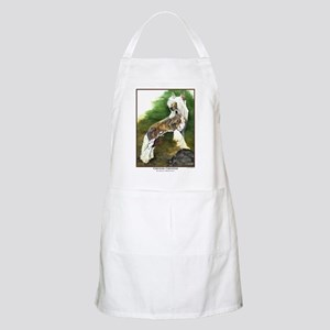 Chinese Crested Painting BBQ Apron