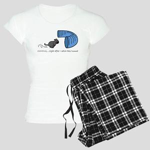 Tunnel Pug in Black Women's Light Pajamas