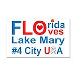 Florida Car Magnet 20 x 12