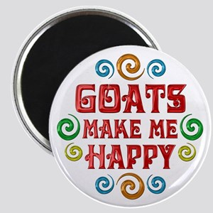 Goat Happiness Magnet