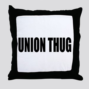 UNION THUG: Throw Pillow