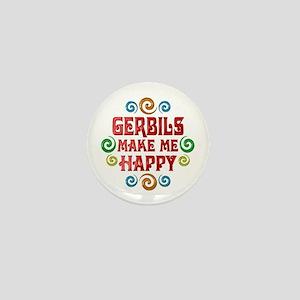 Gerbil Happiness Mini Button