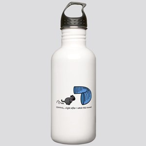 Tunnel Pug in Black Stainless Water Bottle 1.0L