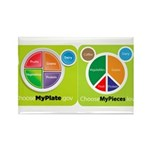 My Pieces Rectangle Magnet (10 pack)