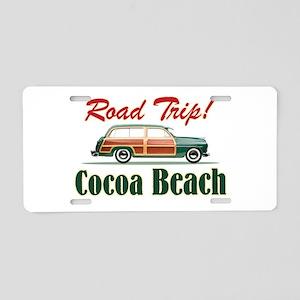 Cocoa Beach Road Trip - Aluminum License Plate